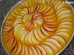Creme gelado de maçãs