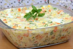 Salada de maionese rápida