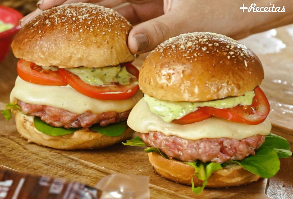 Hamburger de linguiça
