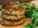 Hamburger de brócolis e grão de bico