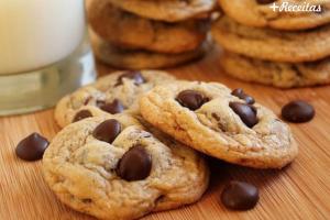 Cookie com Gotas de Chocolate ao Leite