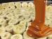 Doce de banana com doce de leite