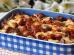 Batata gratinada com queijo e bacon
