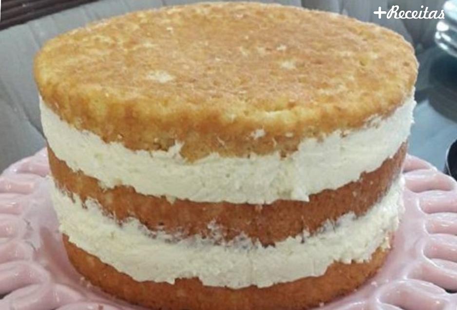 Recheio para bolo de aniversário leite ninho