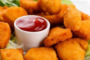 Nuggets caseiro super fácil
