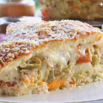 Torta de arroz a portuguesa