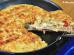 Torta de frigideira sabor pizza