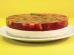 Torta espelhada de morango
